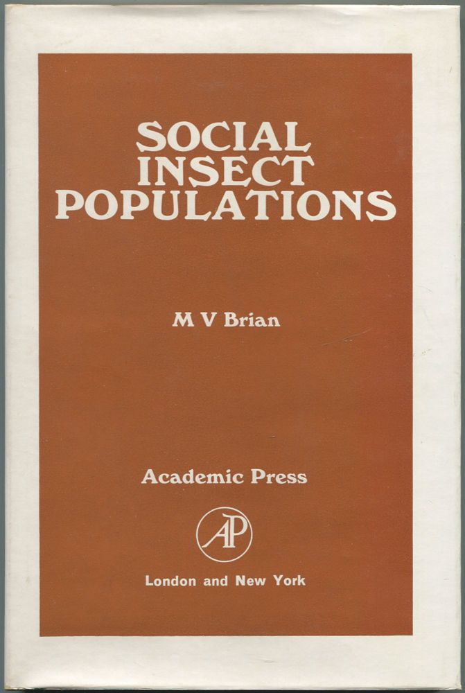 Social Insect Populations. M. V. BRIAN.