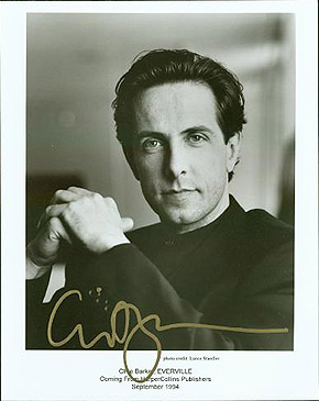 Signed Photograph. Clive BARKER.