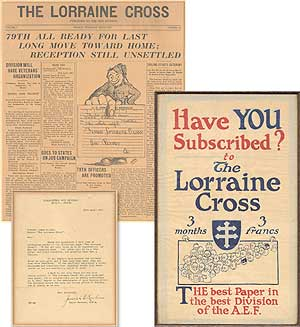 [The Final Issue of] The Lorraine Cross. James M. CAIN.
