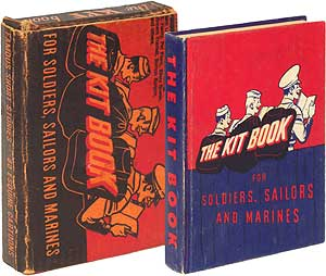 """(Story): """"The Hang of It"""" in The Kit Book for Soldiers, Sailors and Marines. J. D. SALINGER."""