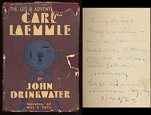 The Life and Adventures of Carl Laemmle. John DRINKWATER.