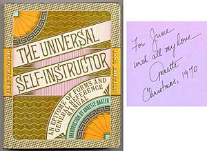 The Universal Self-Instructor and Manual of General Reference: A Facsimile of the 1883 edition with an introduction by Annette K. Baxter. Annette BAXTER.