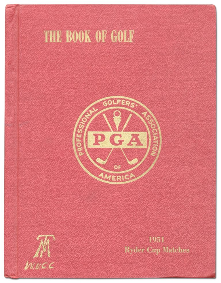 The Book of Golf: 1951 Ryder Cup Matches