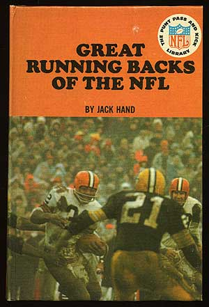 Great Running Backs of the NFL. Jack HAND.