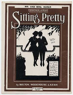 """(Sheet music): Mr. and Mrs. Rorer (from """"Sitting Pretty""""). P. G. WODEHOUSE, words and, Jerome Kern."""
