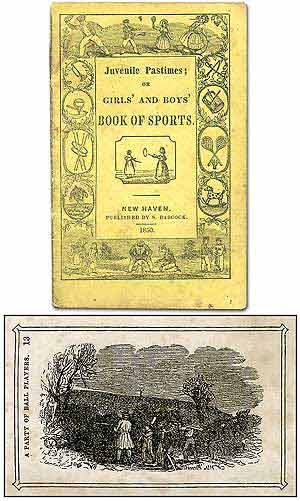 Juvenile Pastimes; or Girls' and Boys' Book of Sports