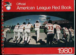 The 1980 American League Red Book: 51 st Annual Edition
