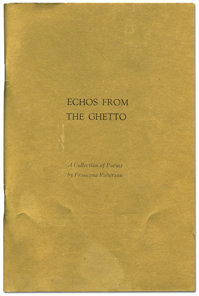 Echoes from the Ghetto