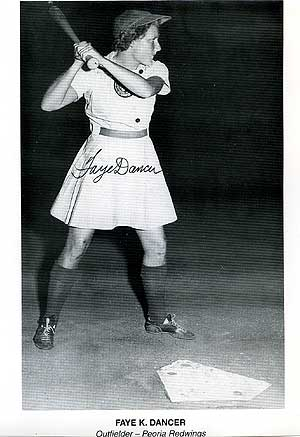 Signed Photograph of Faye Dancer