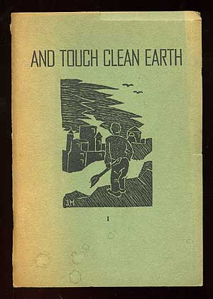 And Touch Clean Earth I (Volume I Only). David Louis POSNER.