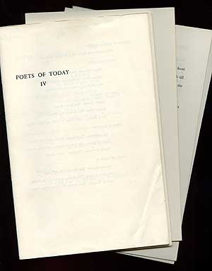 Poets of Today IV: The Reverend Ghost: Poems, The Harvest and the Scythe: Poems, and This Various...