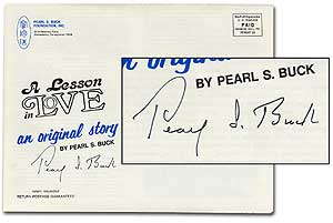 """A Lesson in Love: an original story in """"Insight"""" Pearl S. BUCK."""