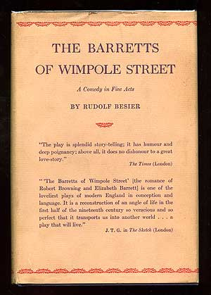 The Barretts of Wimpole Street. Rudolf BESIER.
