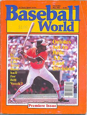 Baseball World: May, 1981