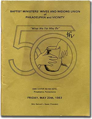 50th: Baptist Ministers' Wives and Widows Union of Philadelphia and Vicinity