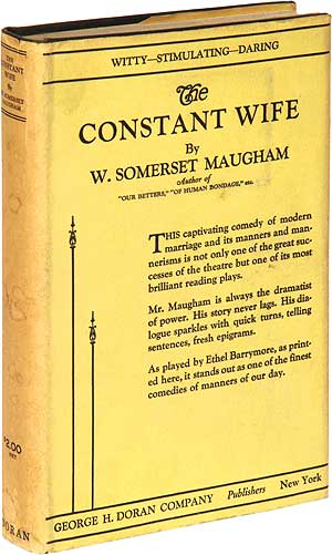 The Constant Wife. W. Somerset MAUGHAM.