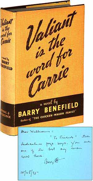 Valiant Is the Word for Carrie. Barry BENEFIELD.