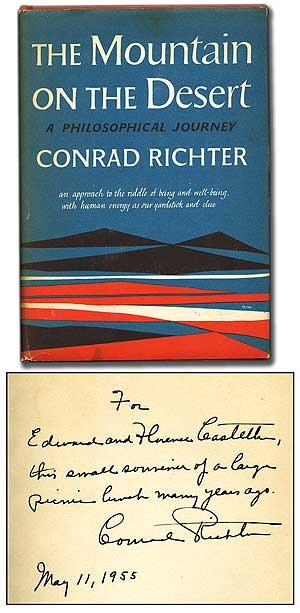 The Mountain on the Desert: A Philosophical Journey. Conrad RICHTER.