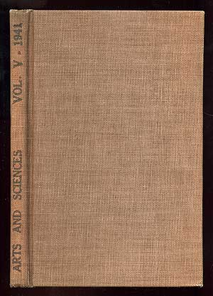 Arts and Sciences Volume Five 1941 Dedicated to the American Museum of Photography