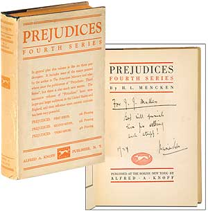 Prejudices: Fourth Series