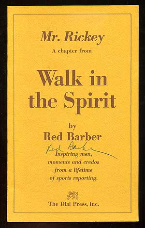 Mr. Rickey: A Chapter from Walk in the Spirit. Red BARBER.