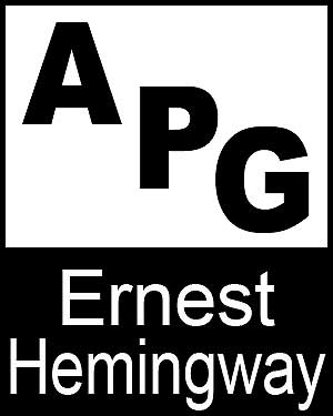 Bibliography, First Edition and Price Guide (APG - Author's Price Guide Series). Ernest HEMINGWAY, The Staff of Quill, Inc Brush.