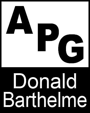 Bibliography, First Edition and Price Guide (APG - Author's Price Guide Series). Donald BARTHELME, The Staff of Quill, Inc Brush.