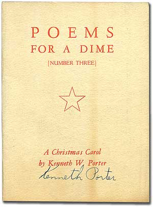 Poems for a Dime [Number Three]: A Christmas Carol by Kenneth W. Porter