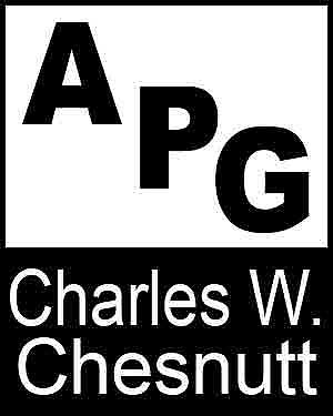 Bibliography, First Edition and Price Guide (APG - Author's Price Guide Series). Charles W. CHESNUTT, The Staff of Quill, Inc Brush.