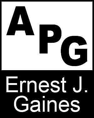 Bibliography, First Edition and Price Guide (APG - Author's Price Guide Series). Ernest J. GAINES, The Staff of Quill, Inc Brush.