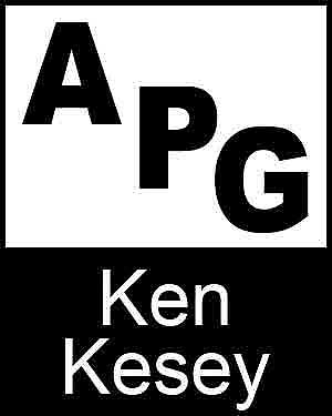 Bibliography, First Edition and Price Guide (APG - Author's Price Guide Series). Ken KESEY, The Staff of Quill, Inc Brush.