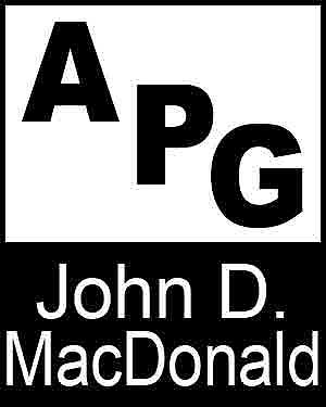 Bibliography, First Edition and Price Guide (APG - Author's Price Guide Series). John D. MacDONALD, The Staff of Quill, Inc Brush.