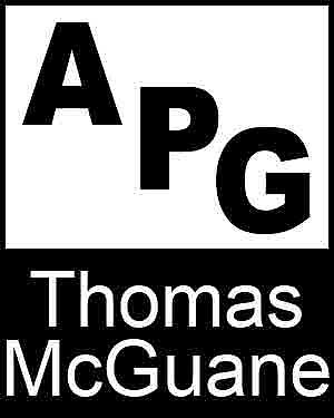Bibliography, First Edition and Price Guide (APG - Author's Price Guide Series). Thomas McGUANE, The Staff of Quill, Inc Brush.