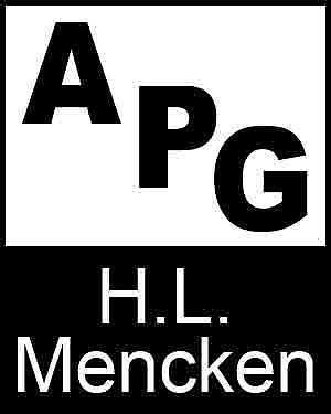 Bibliography, First Edition and Price Guide (APG - Author's Price Guide Series). H. L. MENCKEN, The Staff of Quill, Inc Brush.