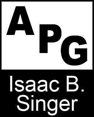 Bibliography, First Edition and Price Guide (APG - Author's Price Guide Series). Isaac B. SINGER, The Staff of Quill, Inc Brush.