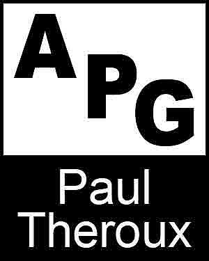 Bibliography, First Edition and Price Guide (APG - Author's Price Guide Series). Paul THEROUX, The Staff of Quill, Inc Brush.