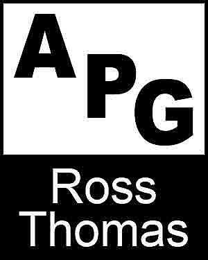 Bibliography, First Edition and Price Guide (APG - Author's Price Guide Series). Ross THOMAS, The Staff of Quill, Inc Brush.