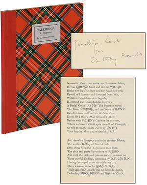 Caledonia: A Fragment. Anthony POWELL.