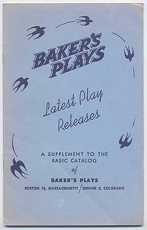 Baker's Plays: Latest Play Releases