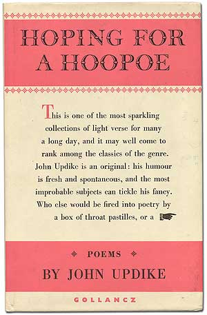 Hoping for a Hoopoe. John UPDIKE.