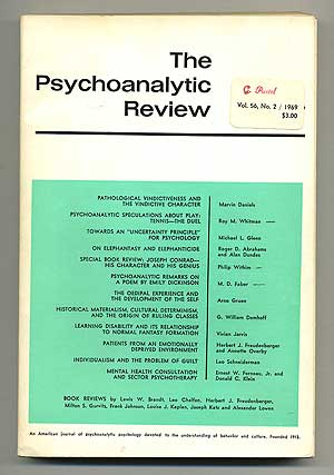 The Psychoanalytic Review: Volume 56, Number 2, 1969
