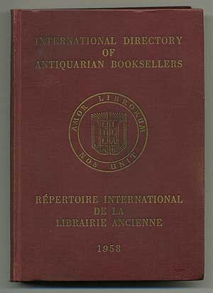 International Directory of Antiquarian Booksellers