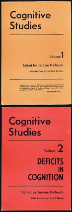 Cognitive Studies: Volumes I and II. Jerome HELLMUTH