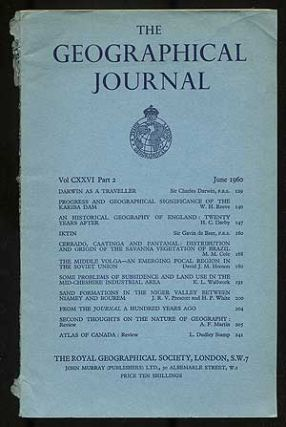 The Geographical Journal: Volume CXXVI, Part 2, June 1960