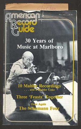 American Record Guide, May 1980, Vol. 43, No. 7. Milton A. CAINE, managing