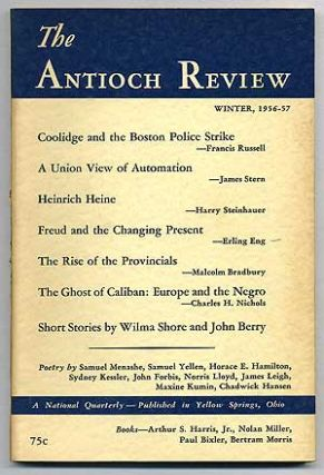 The Antioch Review: Volume 16, Number 4, December 1956