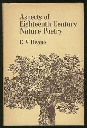 Aspects of Eighteenth Century Nature Poetry