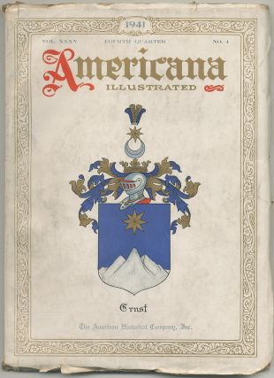 Americana Illustrated: October, 1941, Volume XXXV, Number 4