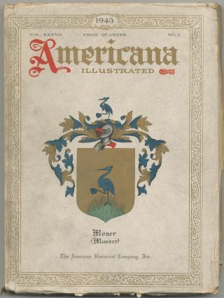 Americana Illustrated: January, 1943, Volume XXXVII, Number 1