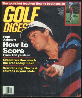 Golf Digest October 1989